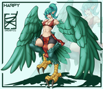 Project Knight: Harpy by DKDevil