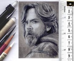 Star Wars sketchcard by whu-wei