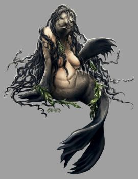 Accursed: Science and Sea - Mermaid by yuikami-da