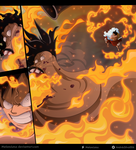 One Piece 917 - Luffy vs Holdem by Melonciutus