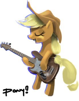 Applebass by ponyrake