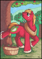 Apple Buck by StormBlaze-Pegasus