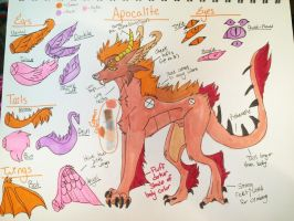 Apocalite Ref {{CLOSED SPECIES/READ DESCRIPTION}} by humble-abode