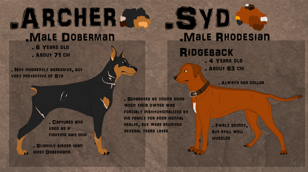 Archer and Syd Ref by Kahroos