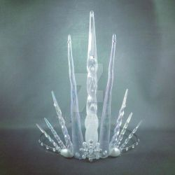 Ultimate Ice Queen Crown by angelyques