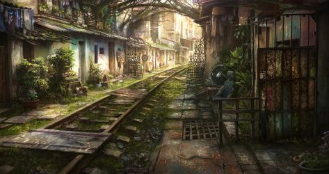 Railroad by JonasDeRo