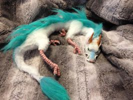 Commissioned Haku doll by darkangellord69