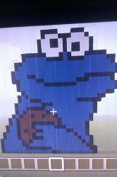 Cookie Monster by TessasArt