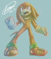 KNUCKLES by LeonS-7