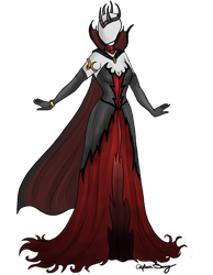 Evil's Mistress Dress Adoptable SOLD by Captain-Savvy
