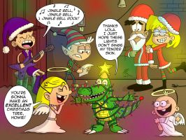 Commission: Howie and the Loud Xmas Pageant by JFMstudios