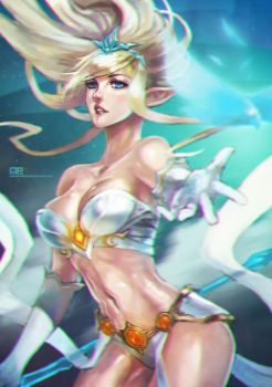 Janna Doodle by MonoriRogue