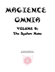 Magience Omnia #6: The System Menu by Official-Magience