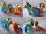 Tide Pod custom ponies for face palming by LightningSilver-Mana