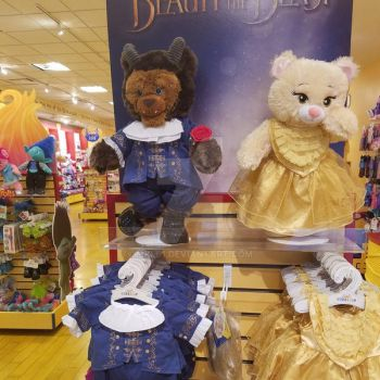 Build a Bear Beauty and the Beast by mkl91