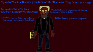 The Reverend Blue Jeans (2018 Reprisal) by TheSkull31