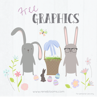 Easter Vector Graphics FREE by SunnyFunLane