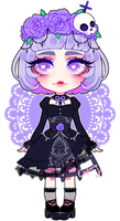 Gothic Lolita adopt OPEN (PAYPAL ONLY) by DiniZee