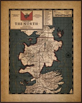 CURRENT: Game of Thrones AU: The North by SkullSmithy