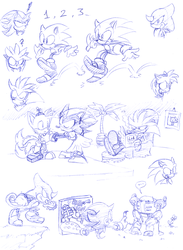 Sonic charas whatever they do by Faezza