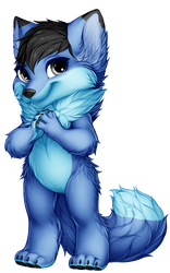 The Blue Fox Furvilla Paintie Version 2.0 by BlueFoxThom