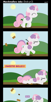 MLP: Marshmallow Joke by postcactus