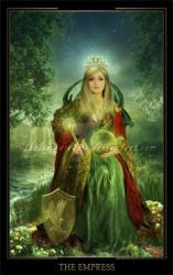 The Empress by ThelemaDreamsArt