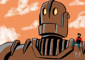 The Iron Giant by IanJMiller