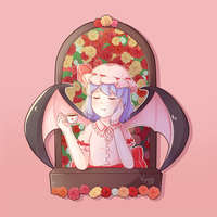 Remilia Scarlet by Vynett