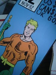 aquaman face by morgoththeone