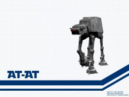 AT-AT Wallpaper by Aideon