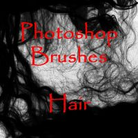 Photoshop HAIR brushes by vaia