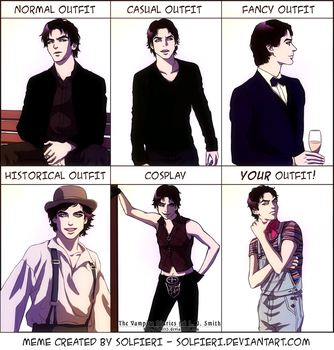 Damon outfit meme by BrET13