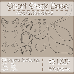 Short Stack Add On Bundle #2 by Omega-Fluff