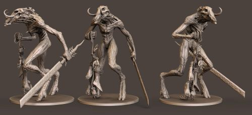 RawHead - 3D Board Game Piece for Petersen Games by FoxHound1984