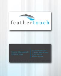 Feather Touch Business Card by Javagreeen