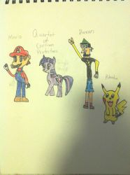 The Quartet of Cartoon Protectors by choco-latte-squirrel