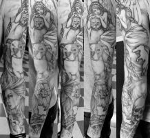 Sleevework by Electricalivia