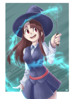 Akko the Witch by ManyaLenI