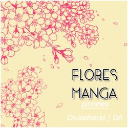 DivasWorld-Brushes-Flower by DivasWorld