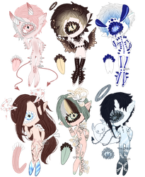 Bargain Batch Xynthii Adopts! 1/6 OPEN by ObsceneBarbie