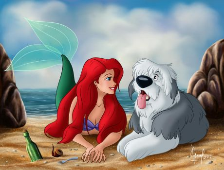 ARIEL AND MAX VERSION 1 by FERNL