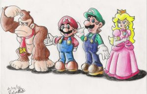 DK's Crew by GraphiteFalcon