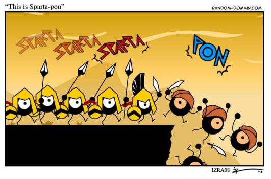 This is Sparta-Pon by IZRA