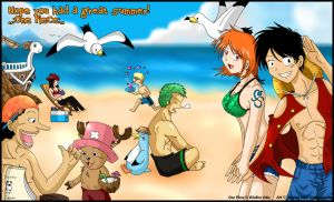 One Piece: Summertime Fun by Harumi-Chan