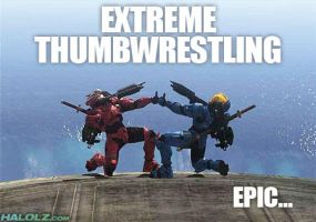 Extreme Thumbwrestling by Asmentor