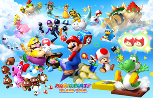 Mario Party: Island Tour for Nintendo 3DS by Legend-tony980