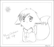 Gift: Snowflake Kitti by amy-cao