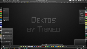 Dektos for Rainmeter by Tibneo
