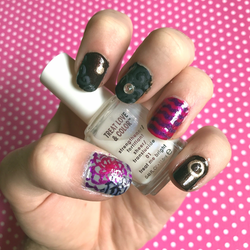 Random Customers Outfit Inspired Nails by SugarySweetSprites